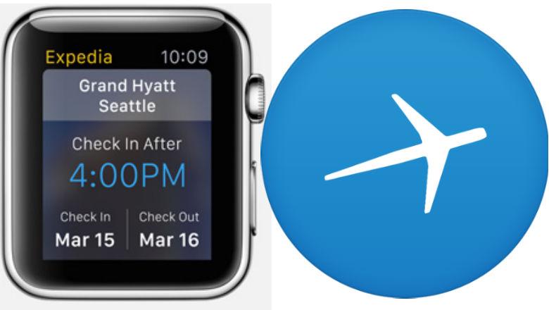 Apple Watch Apps, Expedia app