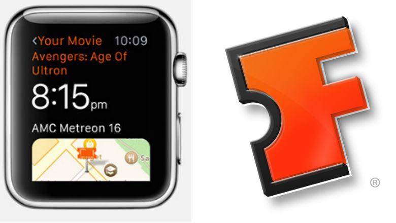 Apple Watch Apps, Fandango app