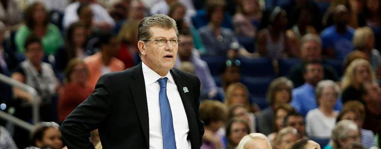 UConn women's coach Geno Auriemma. (Getty)