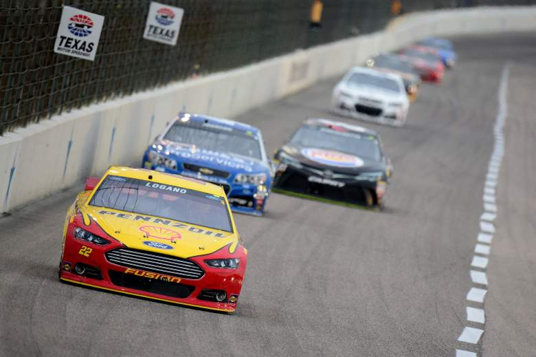 Joey Logano is the reigning Toyota Owners 400 champion. (Getty)