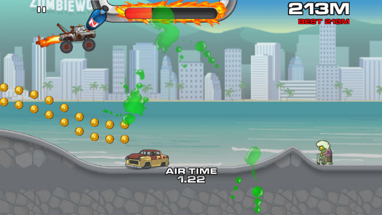 free racing games for iphone, new racing games, racing apps, I Hate Zombies