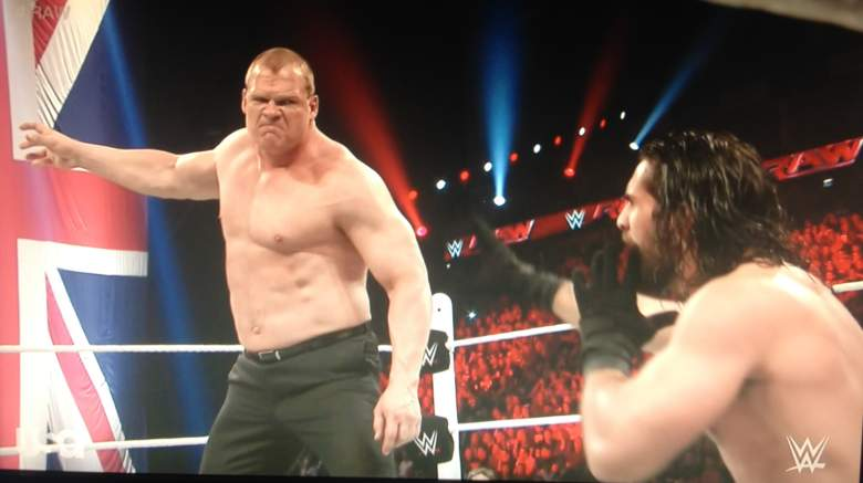 Kane chokeslammed Seth Rollins before laying down for him and the 1-2-3 on RAW.