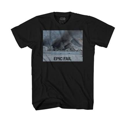 imperial walker epic fail
