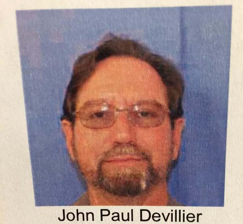 John Paul Devillier mugshot
