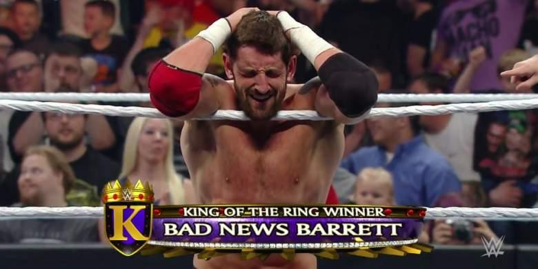 King Barrett WWE