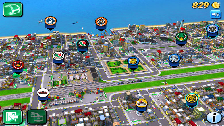 Lego City My City, free kids games, kids apps, iphone games for kids