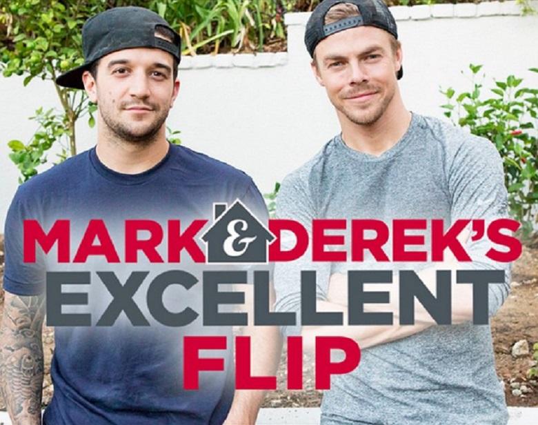 Mark And Derek's Excellent Flip, Mark And Derek Flip Houses, Mark Ballas And Derek Hough, Mark And Derek's Excellent Flip HGTV