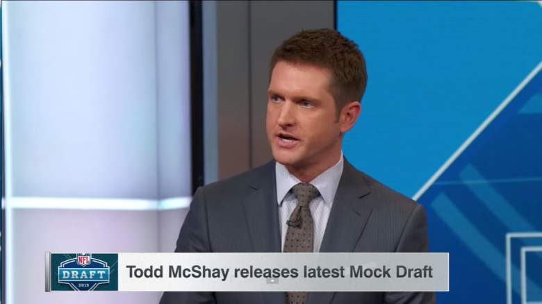 Todd McShay is a leading NFL Draft analyst at ESPN. (YouTube)