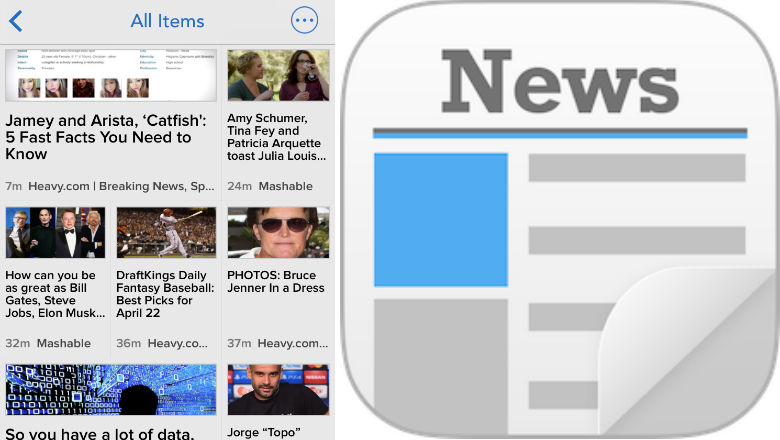 free news apps, news aggregate apps, Newsify
