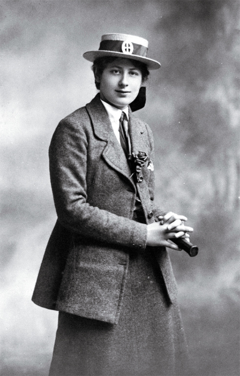 Ngaio Marsh in her St. Margaret's College school uniform. She attended the school from 1910 to 1914. (Wikipedia)