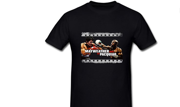 mayweather vs Pacquiao t-shirts