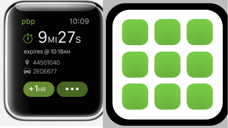 Apple Watch Apps, PaybyPhone App