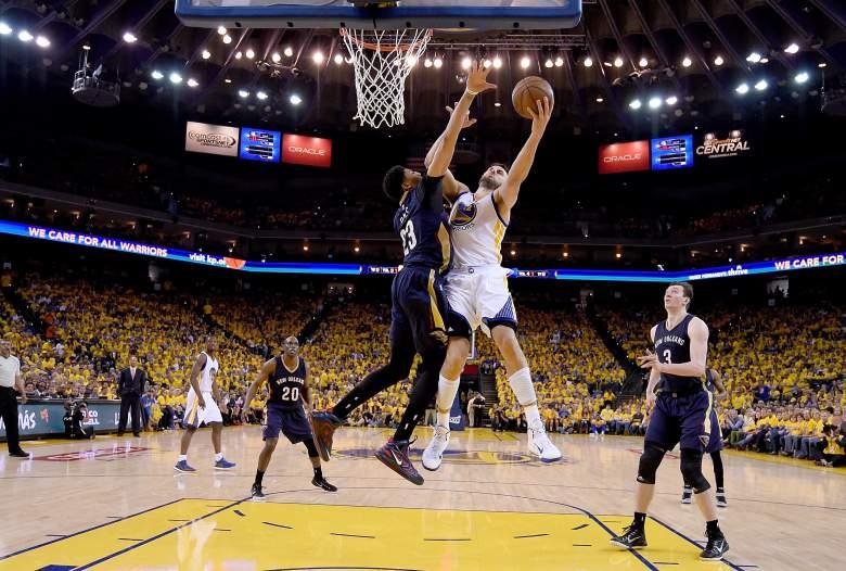 pelicans, warriors, nba playoffs, anthony davis