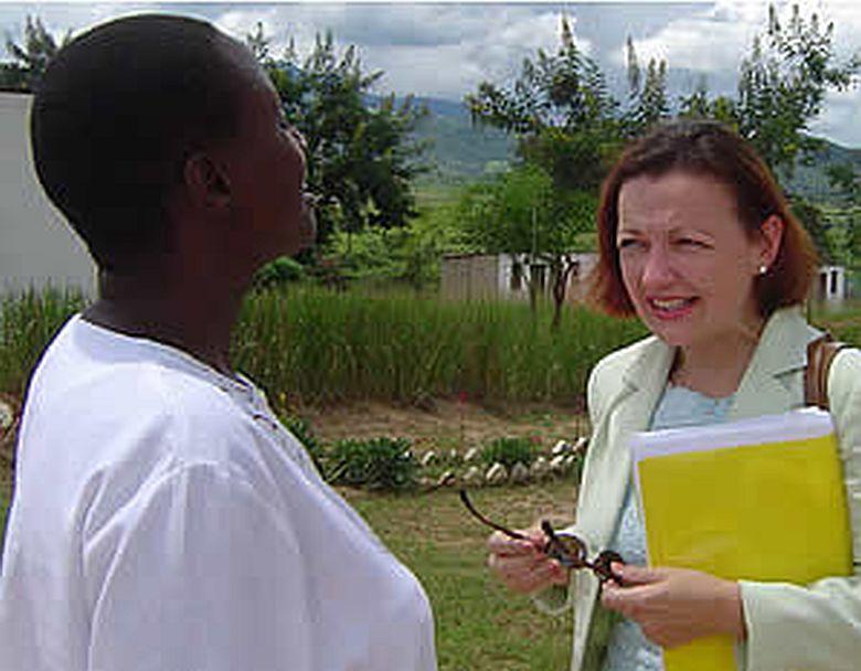 Roxanne Dubé, Zimbabwe,