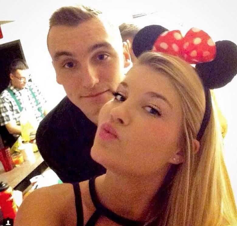 Wisconsin's Sam Dekker with girlfriend Bailey Scheich. (Instagram/baileyscheich)