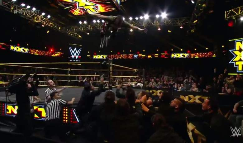 Sami Zayn laid out Kevin Owens and the rest of the NXT locker room. YouTube/WWE)