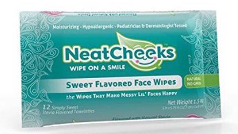 face wipes kids, kids wipes, neat cheeks shark tank