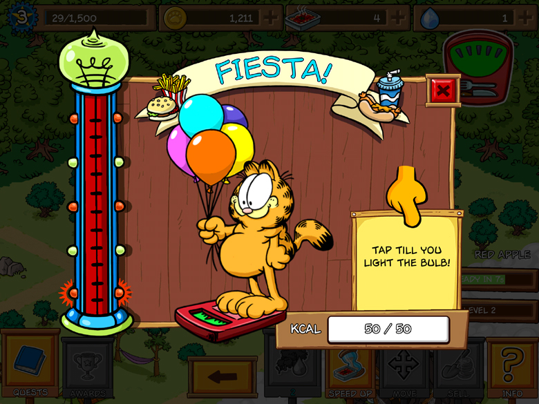 Garfield Survival of the Fattest Tips