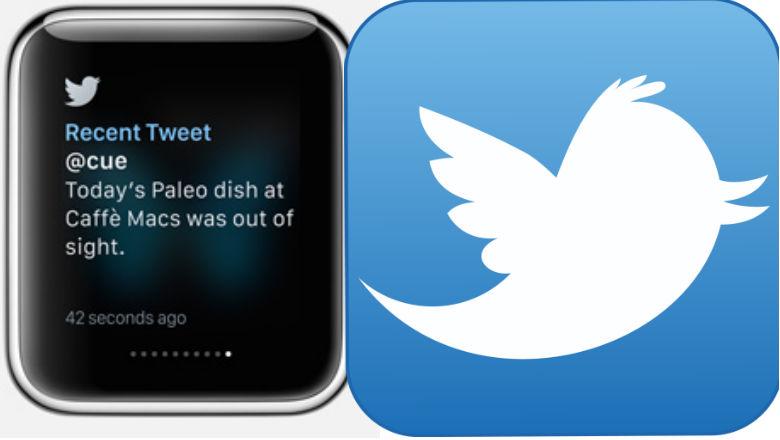 Apple Watch Apps, Twitter App