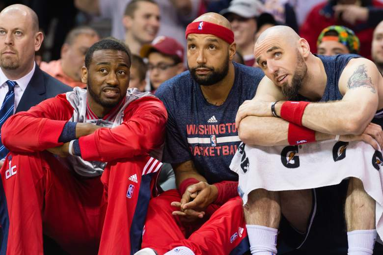 john wall, gortat, wizards, nba playoffs