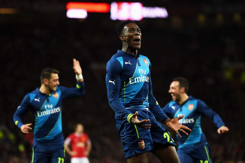 danny welbeck goal arsenal manchester united, danny welbeck fa cup goal, danny welbeck goal