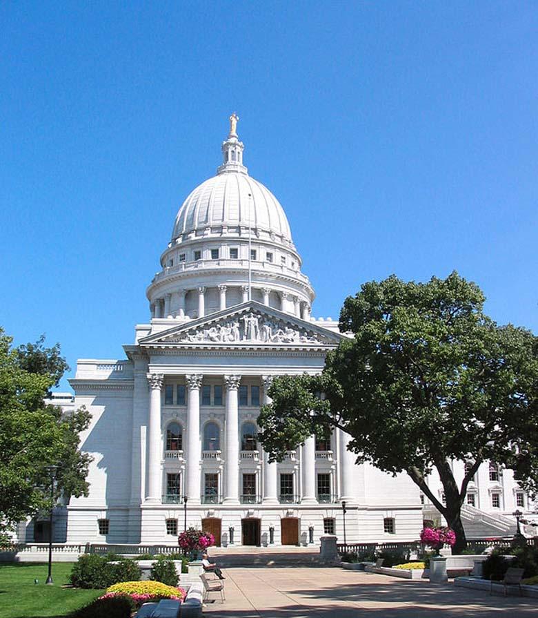 Joshua Van Haften Wisconsin Capitol