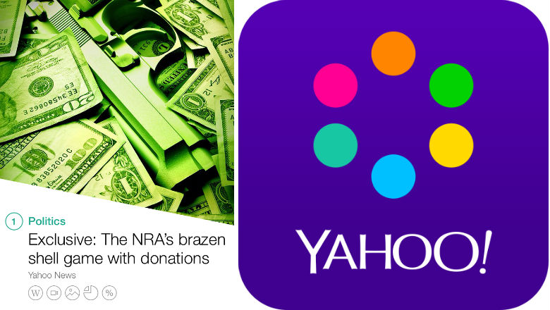 Free news apps, news aggregate apps, yahoo news digest