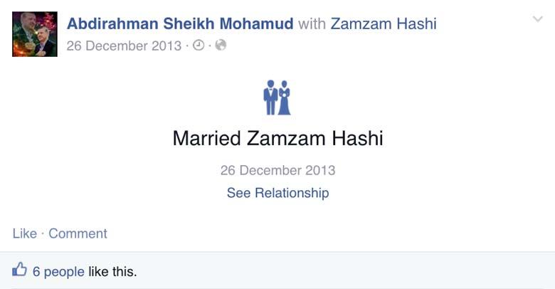 Zamzam Hashi Facebook