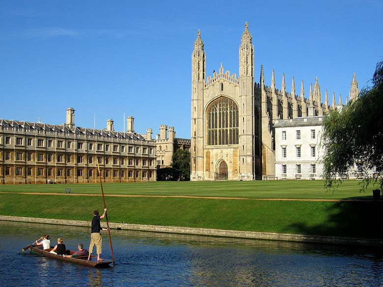 Kings College at the University of Cambridge where Lehmann studied. (Wikipedia)