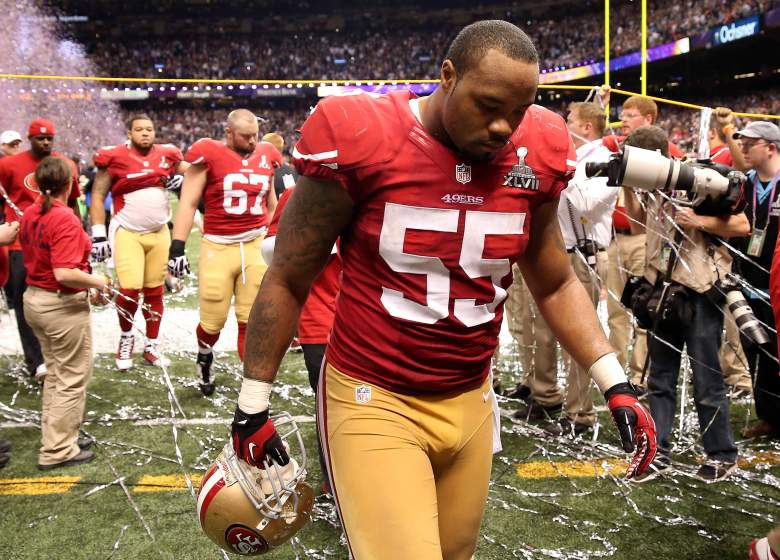 Ahmad Brooks has been accused of sexual assault by the same woman that accused Ray McDonald. (Getty)
