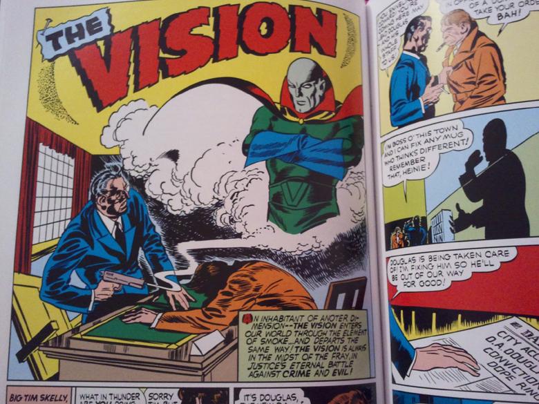 Vision Golden Age Marvel