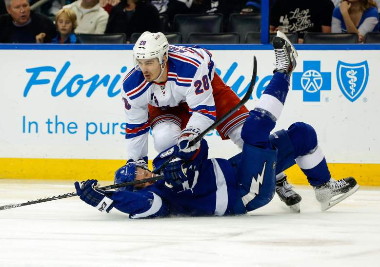 The Rangers and Lightning begin their Eastern Conference final on Saturday. (Getty)