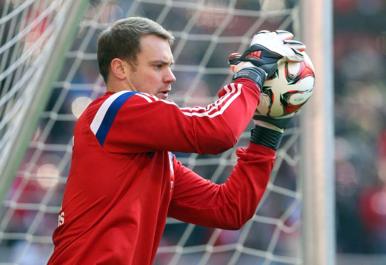 Bayern goalie Manuel Neuer may be busy Wednesday. Getty)