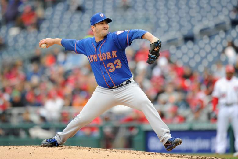Matt Harvey faces the Nationals Friday night. (Getty)