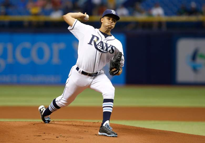 Tampa Bay's Chris Archer is on the hill Thursday vs. the Rangers. (Getty)