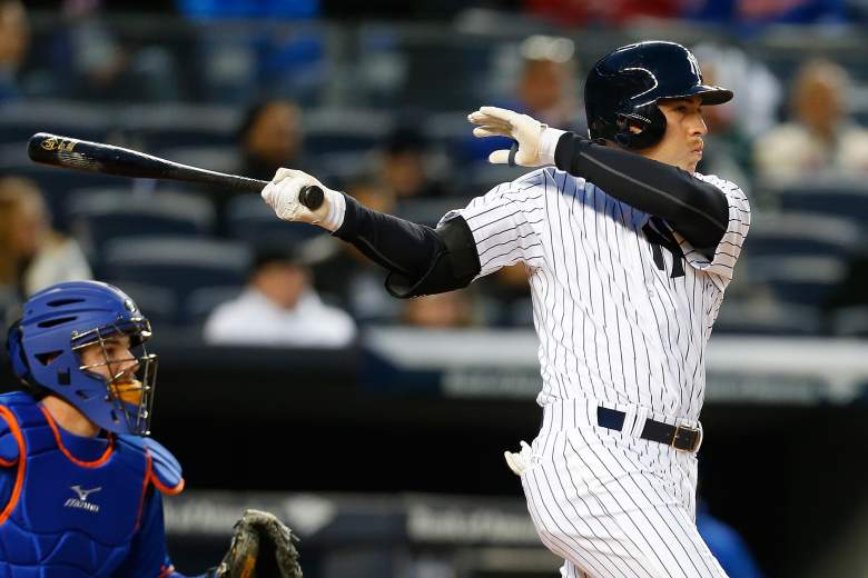 Yankees outfielder Jacoby Ellsbury is batting over .500 in the past week. (Getty)