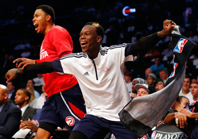 Dennis Schroder, Kent Bazemore and the top-seeded Hawks host the Wizards Sunday in Game 1 of the Eastern semifinals. (Getty)