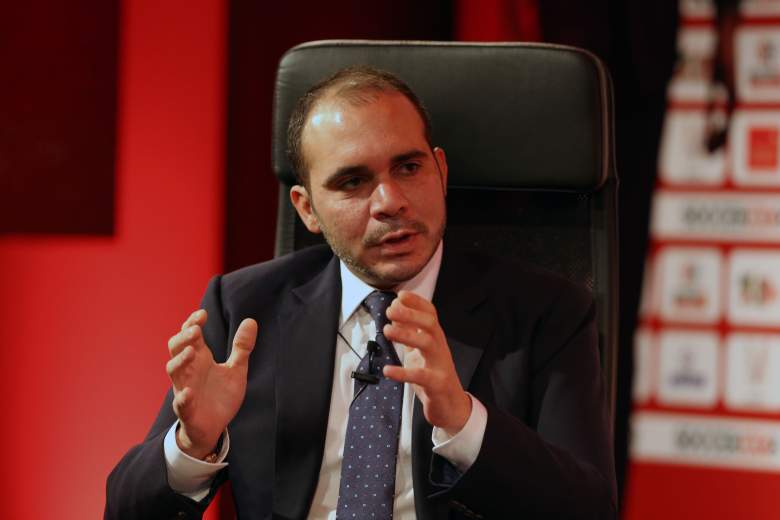 Prince Ali bin Hussein of Jordan is vying to end Sepp Blatter's17-year run as the president of FIFA. (Getty)