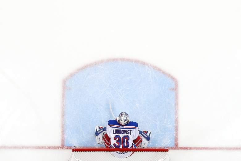 Rangers goalie Henrik Lundqvist has the best odds to win the Conn Smythe Trophy. (Getty)