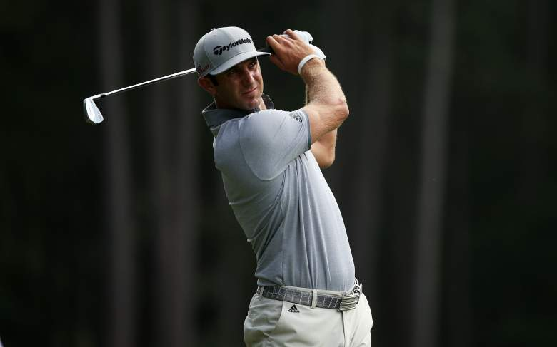 Dustin Johnson is one of the many big-named pros playing in The Players Championship. (Getty)