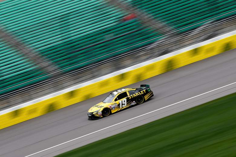 Carl Edwards and the rest of the Sprint Cup drivers race Saturday night in the SpongeBob SquarePants 400. (Getty)