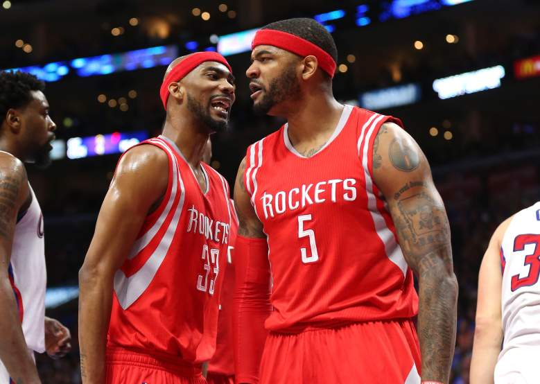 Corey Brewer L) and Josh Smith stunned the Clippers with a combined 29 points in the fourth quarter Getty)