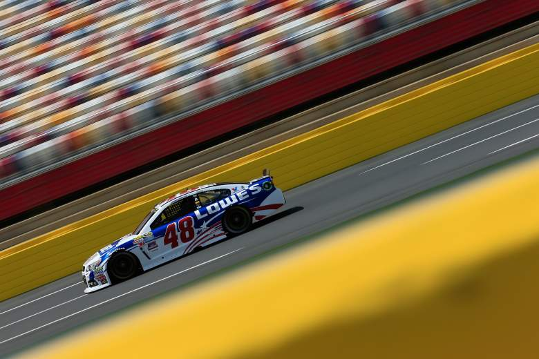 Jimmie Johnson highlights the field in NASCAR's All-Star Race Saturday night. (Getty)