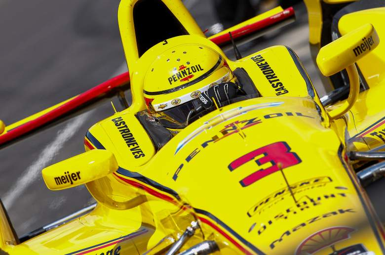 Helio Castroneves is looking for his record-tying 4th Indianapolis 500 victory. (Getty)