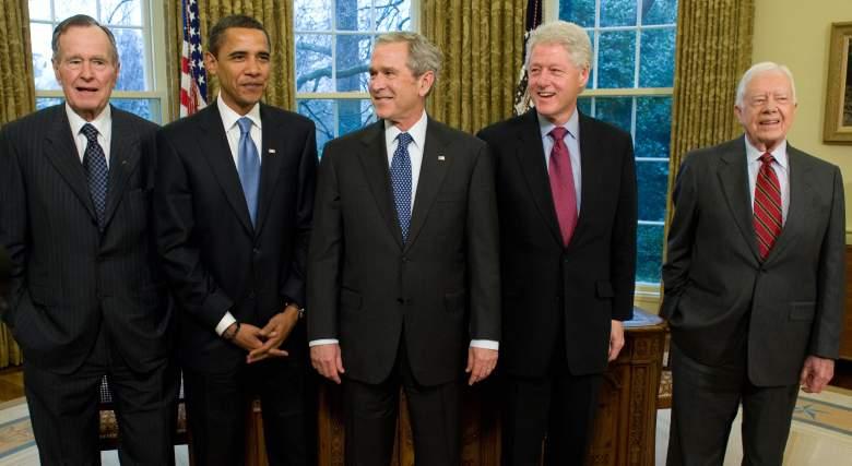 jimmy carter death, george h.w. bush, barack obama, george w. bush, bill clinton