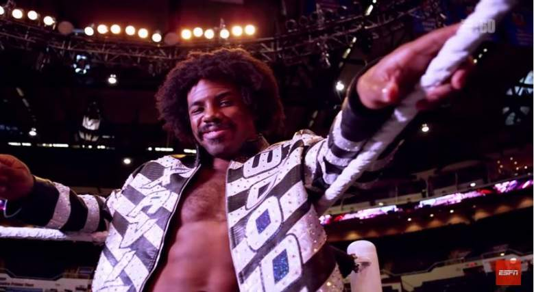 Xavier Woods made his Monday Night RAW debut first. (YouTube/ESPN)