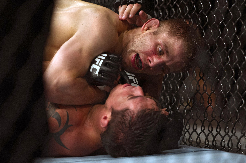 Nik Lentz faces Charles Oliveira at UFC Fight Night. (Getty)