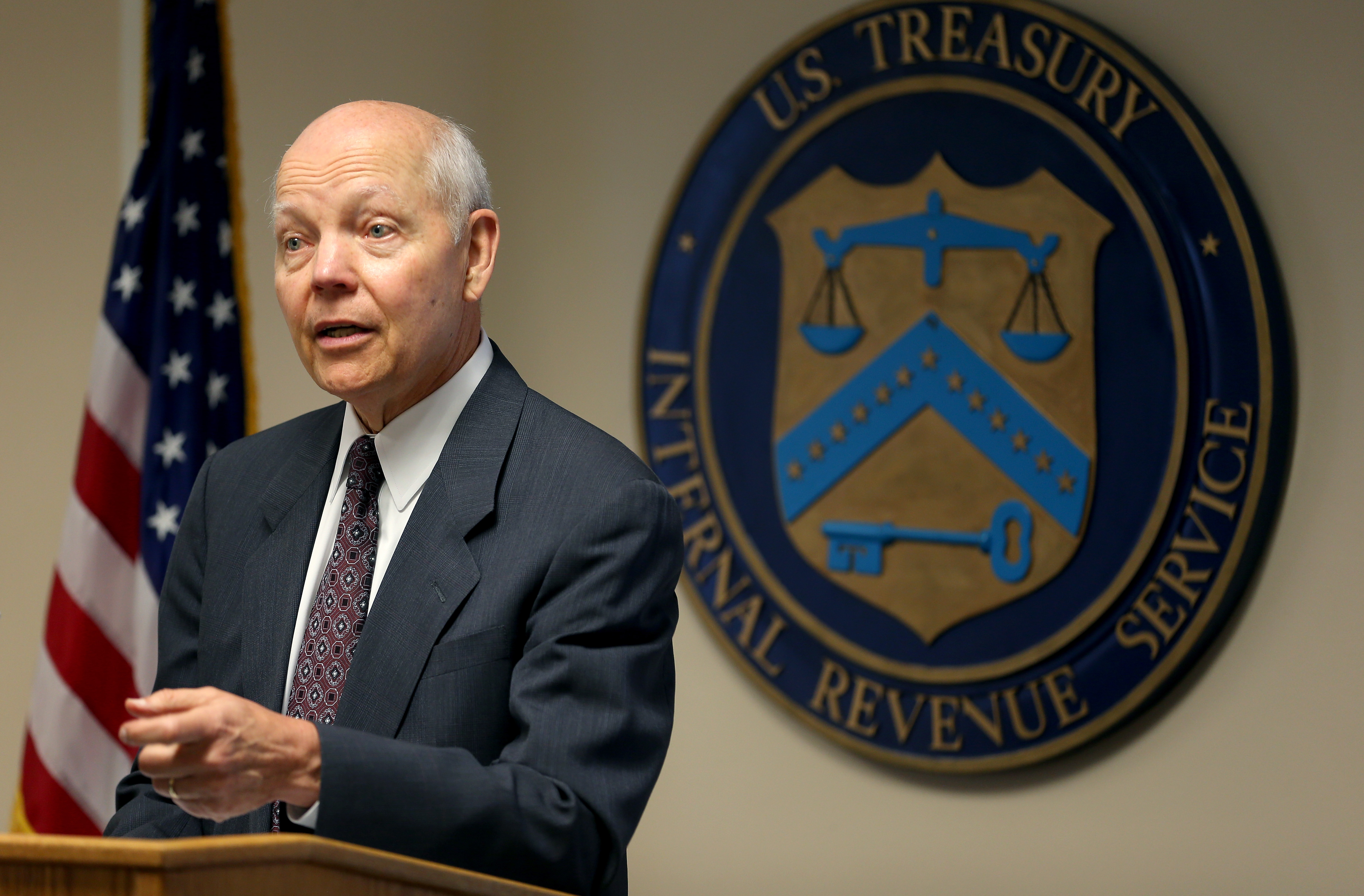 IRS Commissioner John Koskinen in 2014. (Getty)