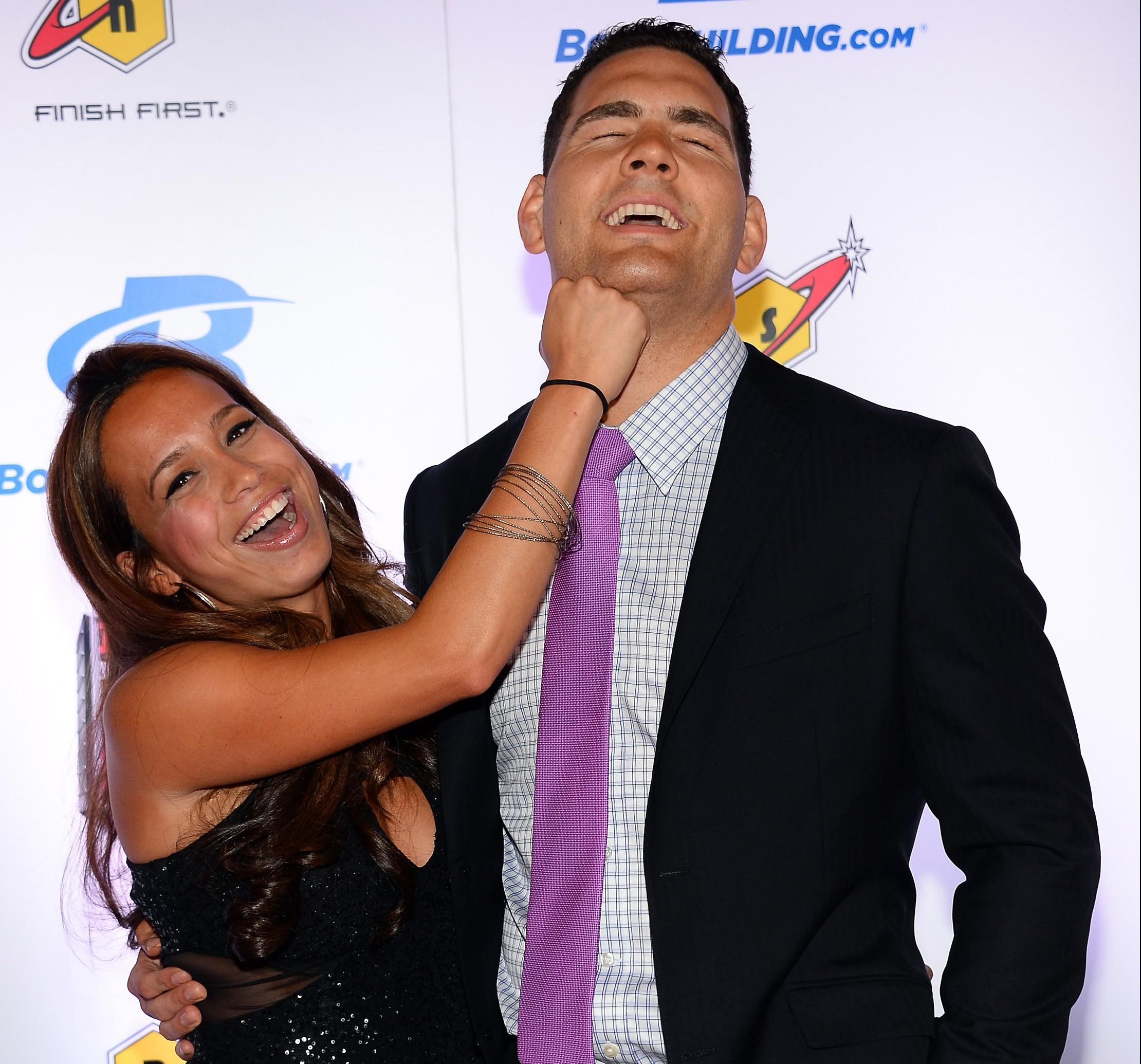 Marivi Weidman, Chris Weidman wife, UFC 187
