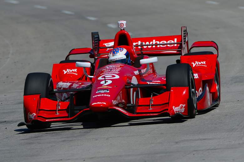 Scott Dixon is on the pole and is the favorite for Sunday's Indianapolis 500. (Getty)